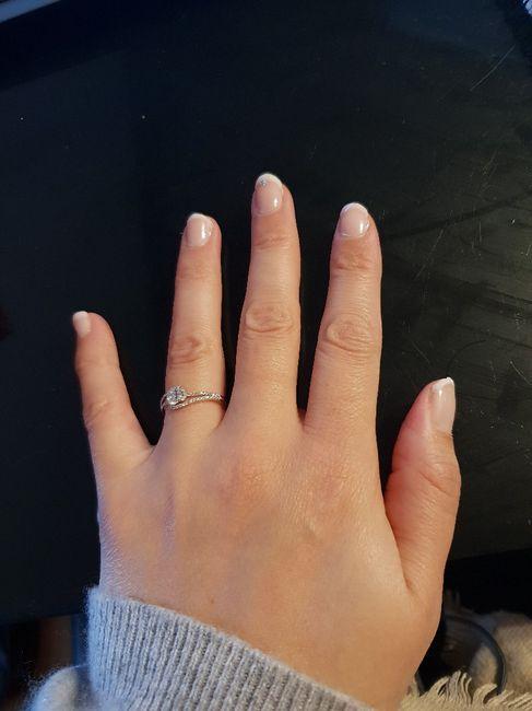 Qui porte une bague de fiançailles ? 4