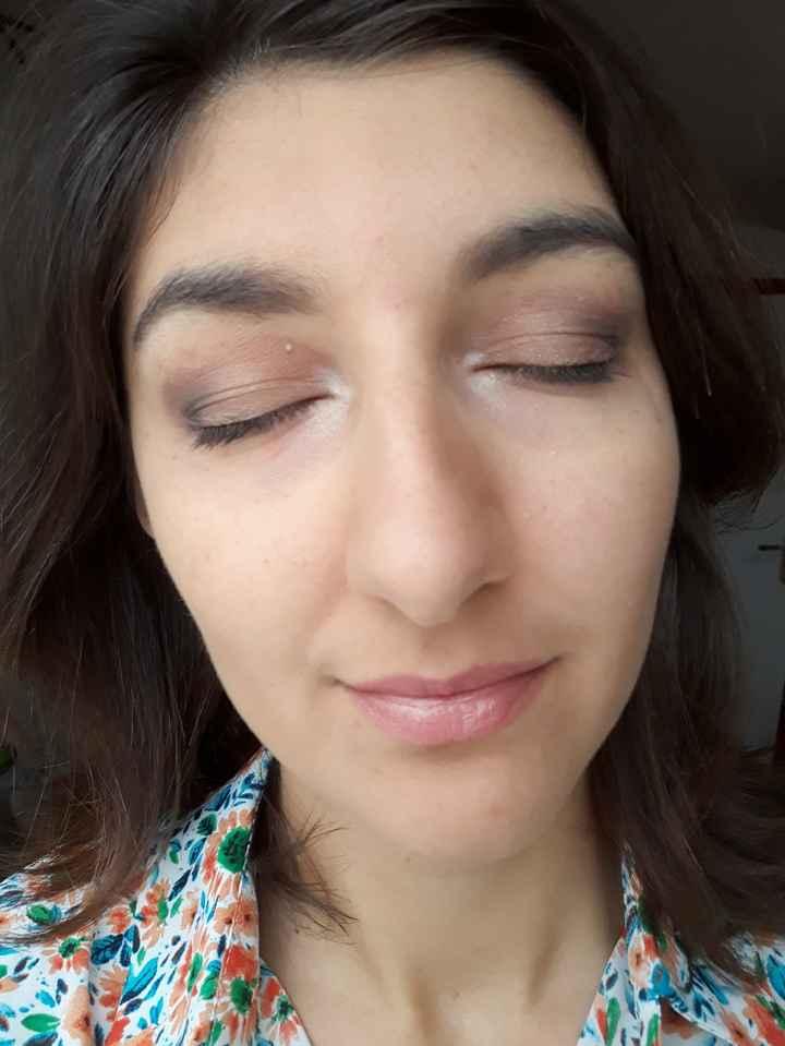 Essai maquillage catastrophique .... - 2