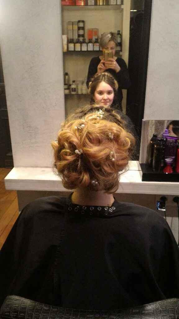 Essaie coiffure mariage - 2
