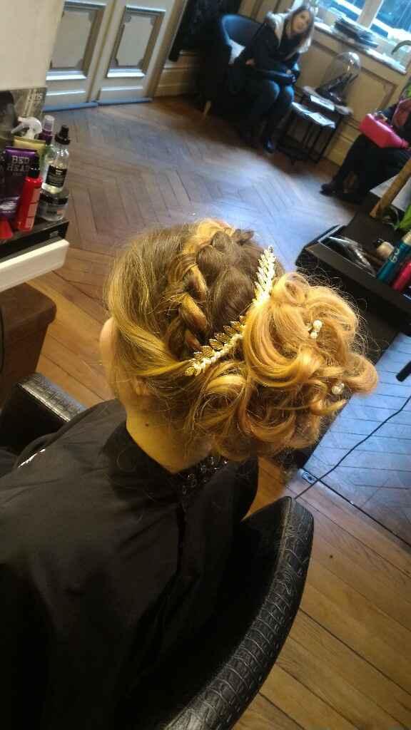 Essaie coiffure mariage - 4