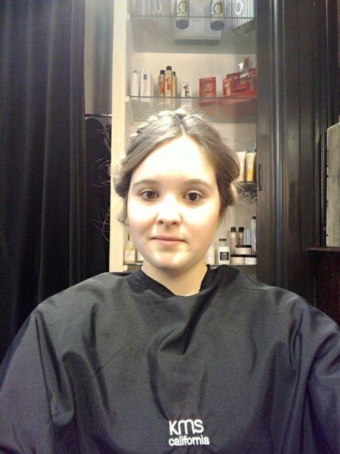 Essaie coiffure mariage - 1