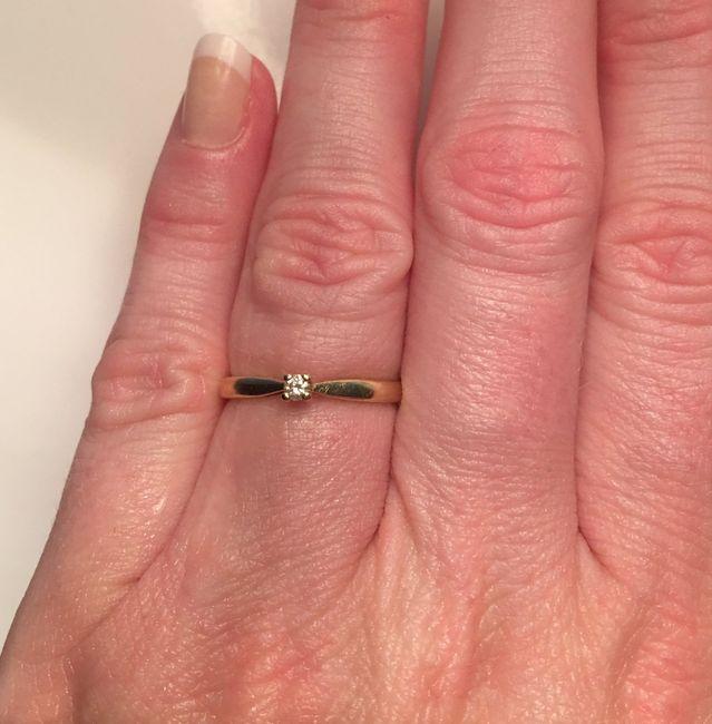 Bague de fiançailles : Avec ou Sans diamant ? 14