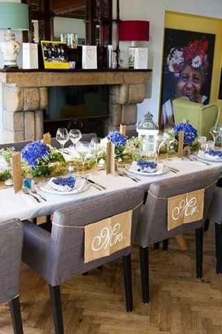 Décoration table et fleurs - 4