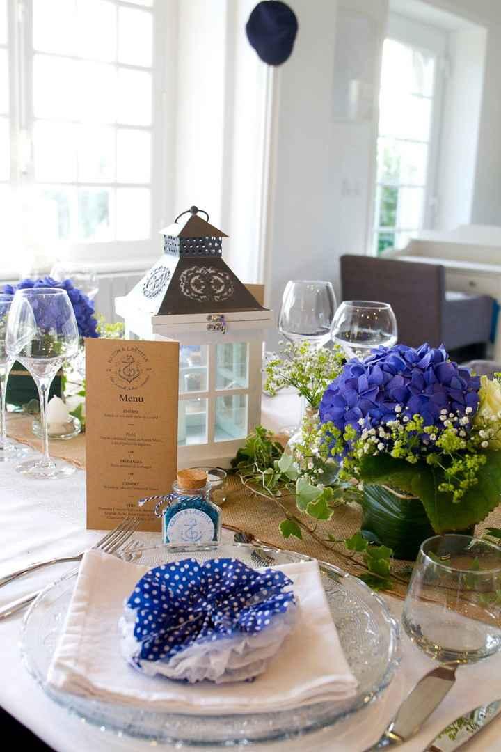 Décoration table et fleurs - 5