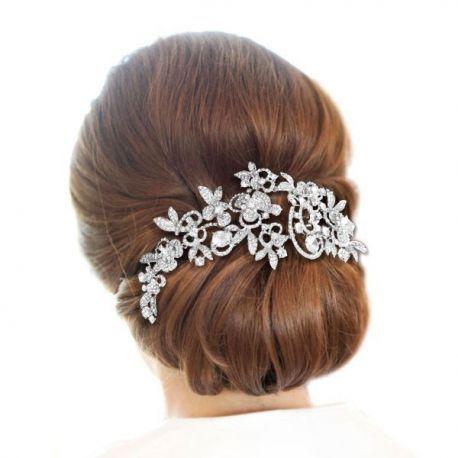 Peigne en strass pour coiffure mariée? - 2