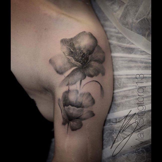 Fleur éphémère ... coquelicot 1