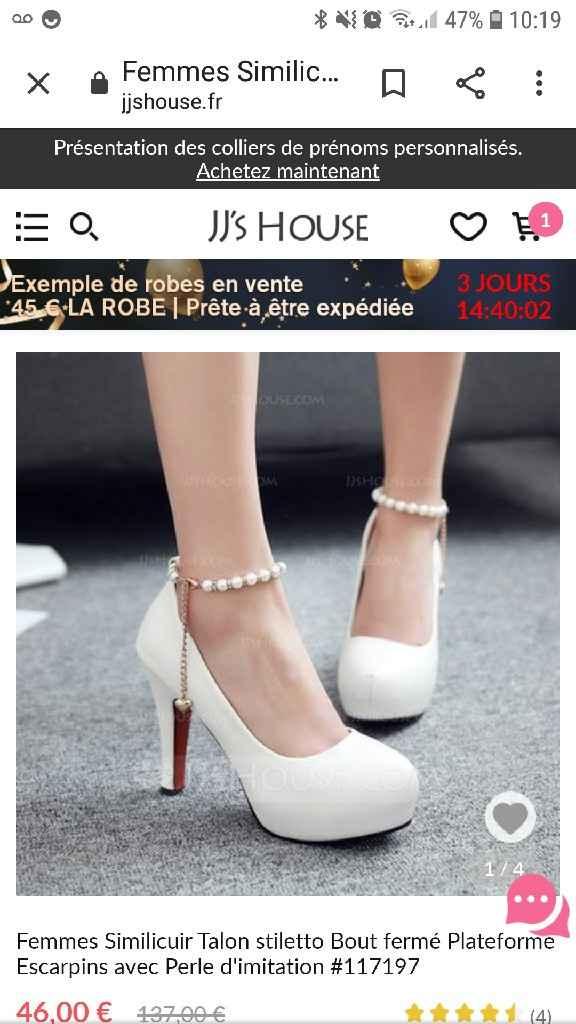 Chaussure de mariée - 1