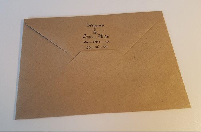 Enveloppe pour faire-part 2