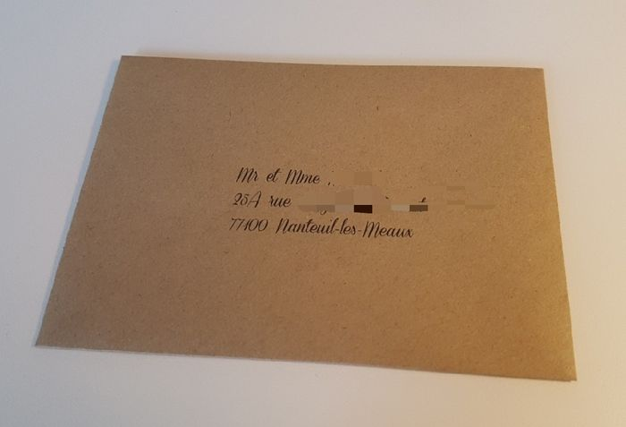 Enveloppe pour faire-part 5