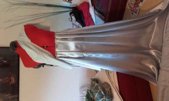 Ebauche de la robe des demoiselles d'honneur - 1