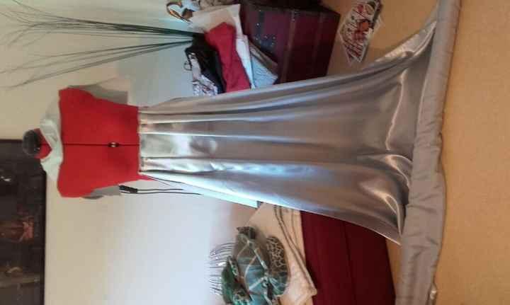 Ebauche de la robe des demoiselles d'honneur - 2