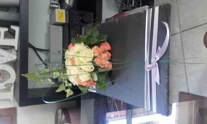 Diy  compo florale table d'honneur - 2