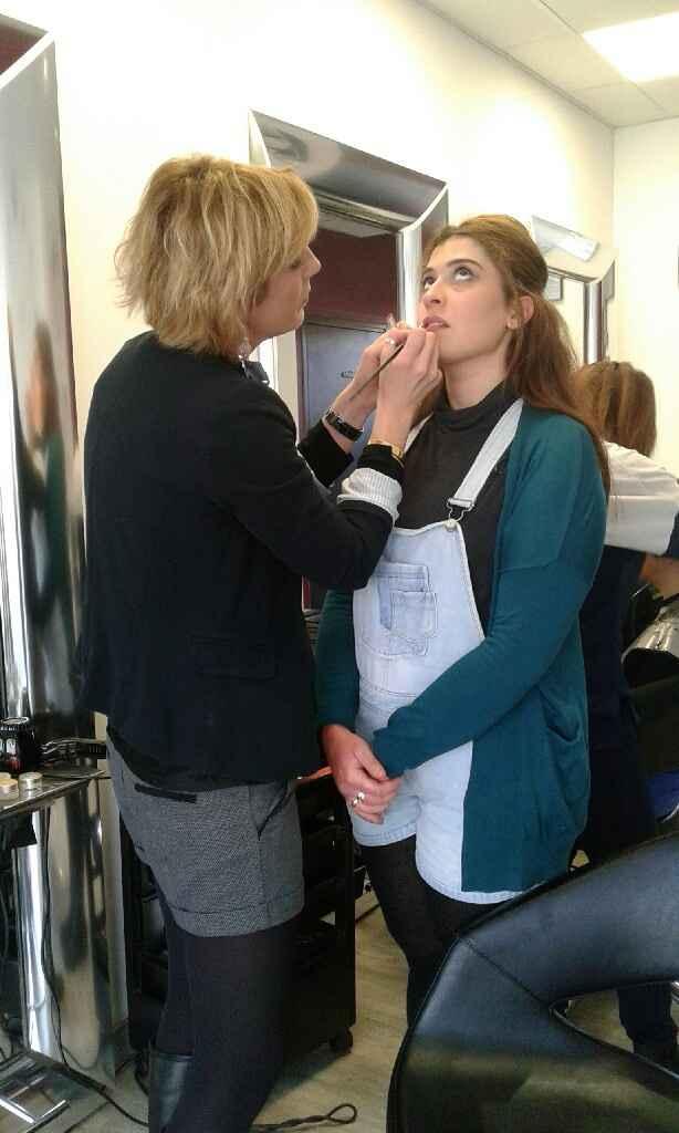 Essais coiffure et maquillage - 2