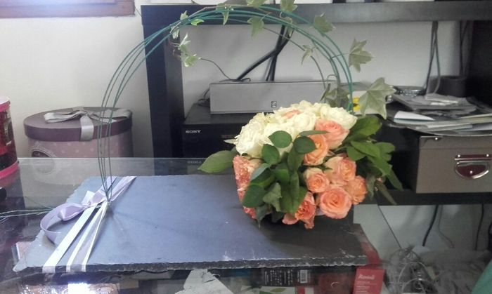 Diy  compo florale table d'honneur - 1