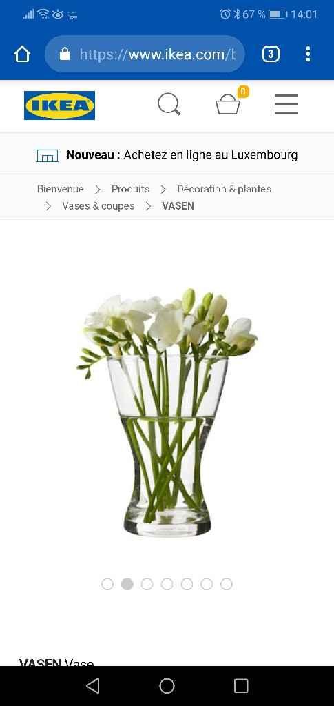 Help déco vase centre de table - 2