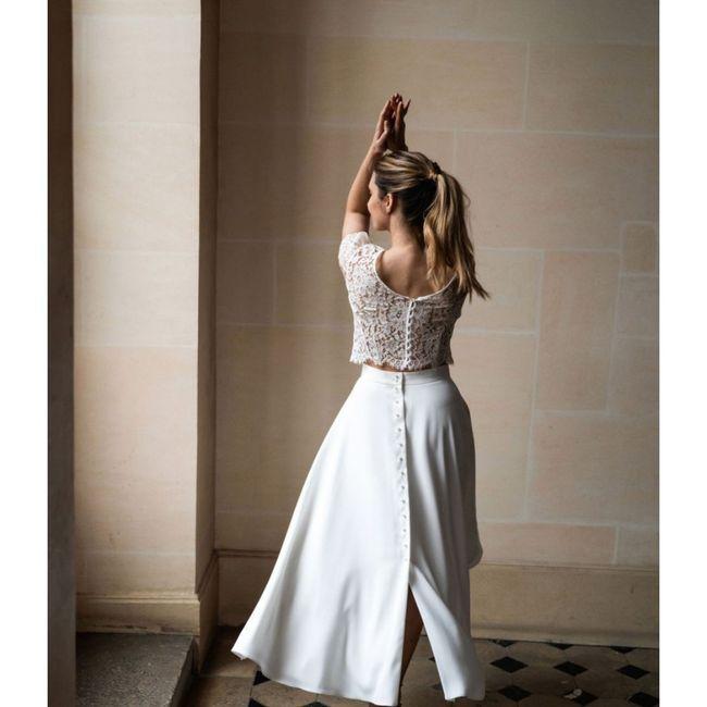 La mariée en jupe ! 👰 1