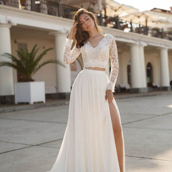 La mariée en jupe ! 👰 2