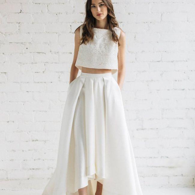 La mariée en jupe ! 👰 3
