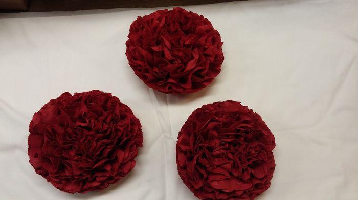 pleins de d co de mariage th me amour rouge et blanc vase photophore ruban boule plexi. Black Bedroom Furniture Sets. Home Design Ideas