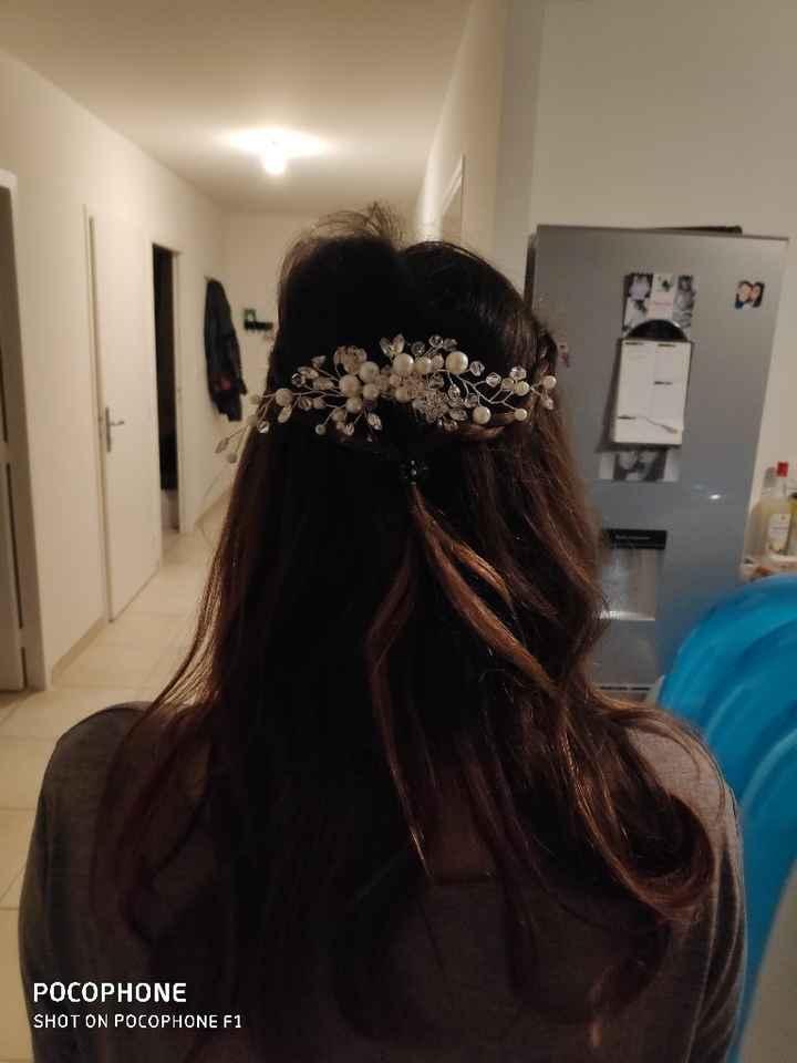Accessoires cheveux reçu - 1