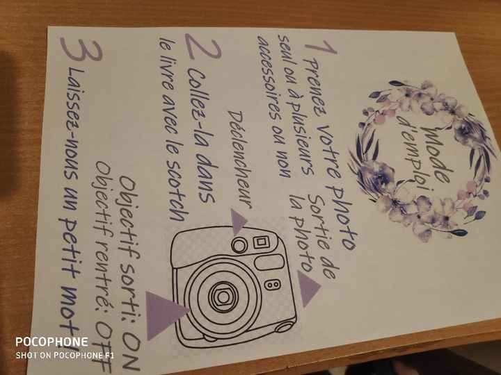 Question photobooth - livre d'or - 1