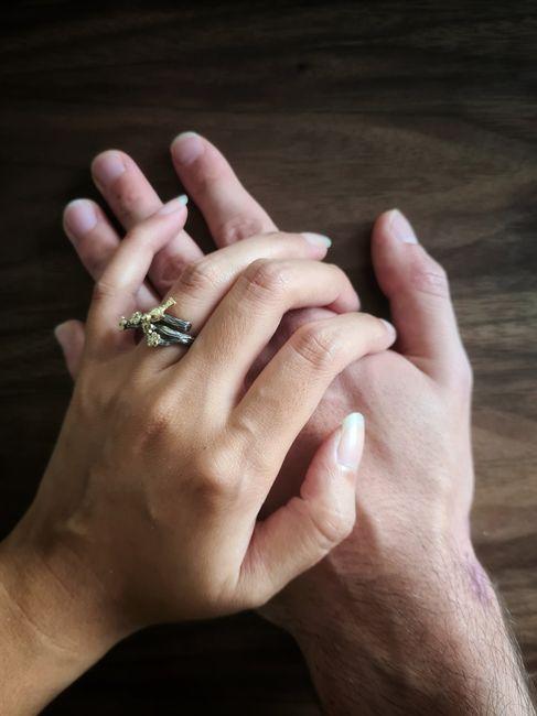 Et vous, comment a été choisie votre bague de fiançailles ? 1