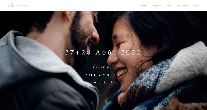 Site mariage.net - 1