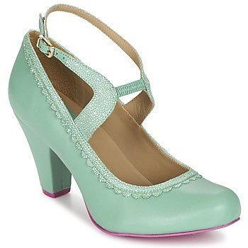 Chaussures vert d'eau tYPrkqHFo