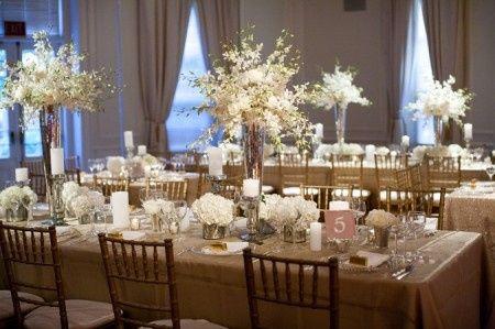 decoration mariage annee 20