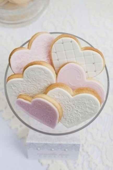 Des petits biscuits personnalisés pour le mariage