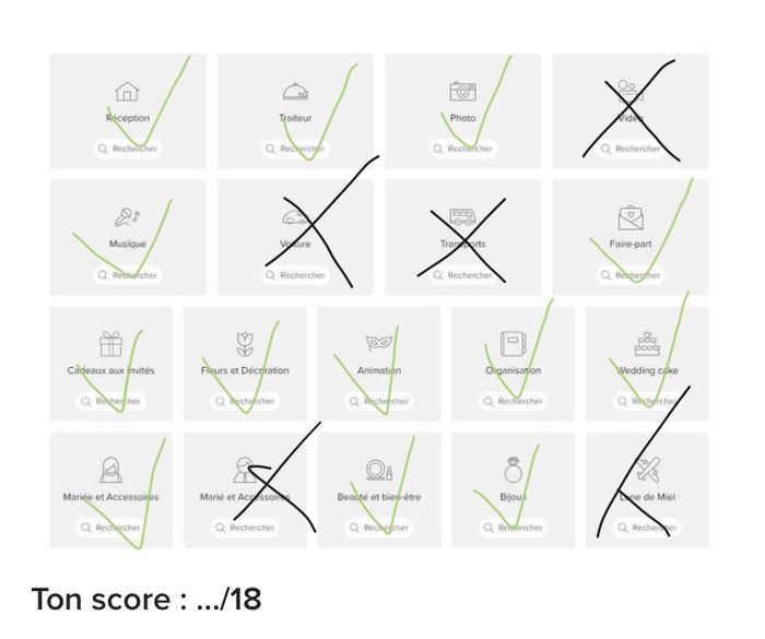 Le bingo des prestataires ! Joue et dis-nous ton score ! ✅ 7