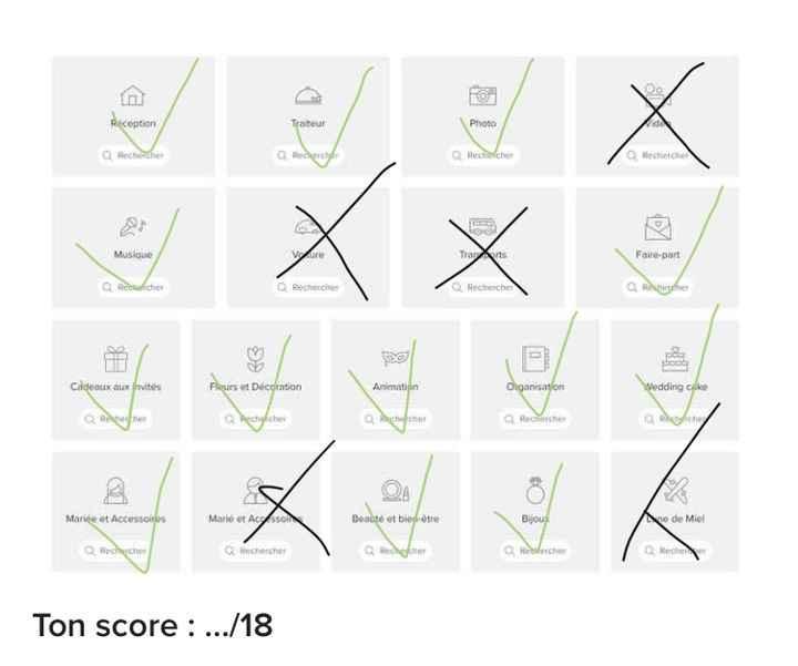 Le bingo des prestataires ! Joue et dis-nous ton score ! ✅ - 1