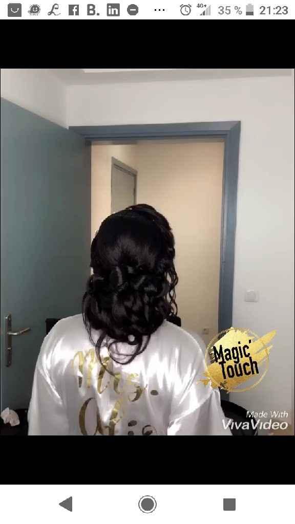 Essai coiffure et maquillage - 4