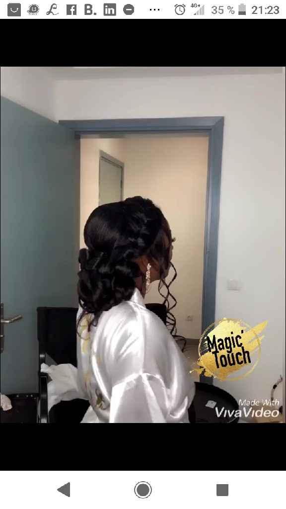 Essai coiffure et maquillage - 5