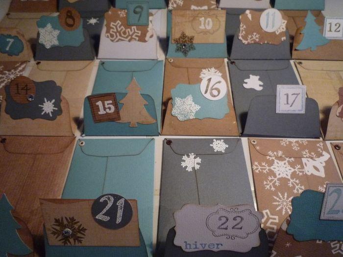 des id es pour un calendrier de l 39 avent organisation. Black Bedroom Furniture Sets. Home Design Ideas