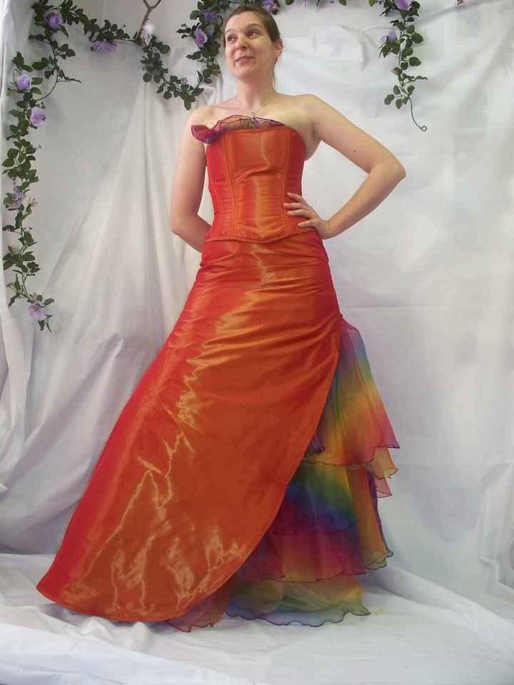 Les robes de mariées colorées - 4