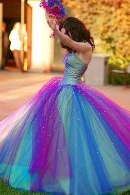 Les robes de mariées colorées - 5