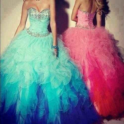 Les robes de mariées colorées - 6