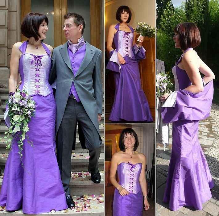 Les robes de mariées colorées - 7