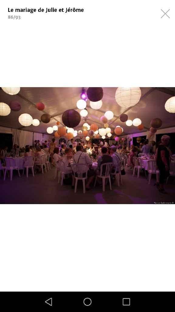 Plafond boules chinoise lumineuse - 1