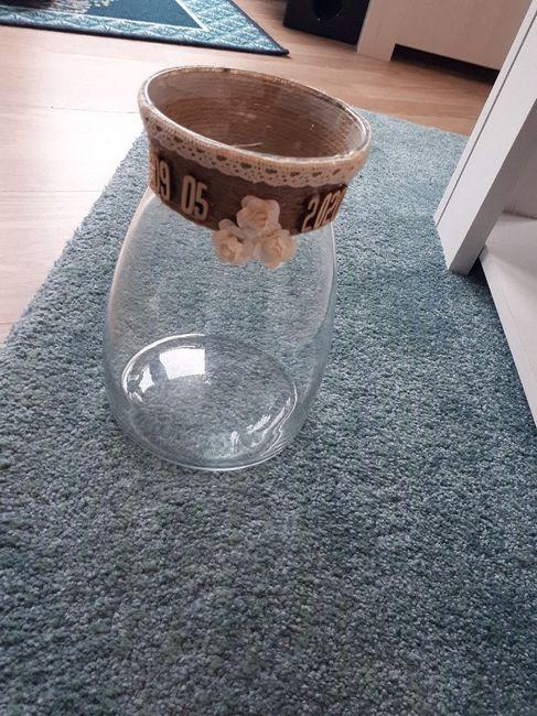 Notre vase avant le décalage du mariage - 1