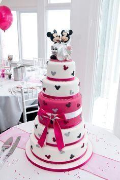 Gâteau de mariage thème disney - 1 - Photo Organisation du mariage