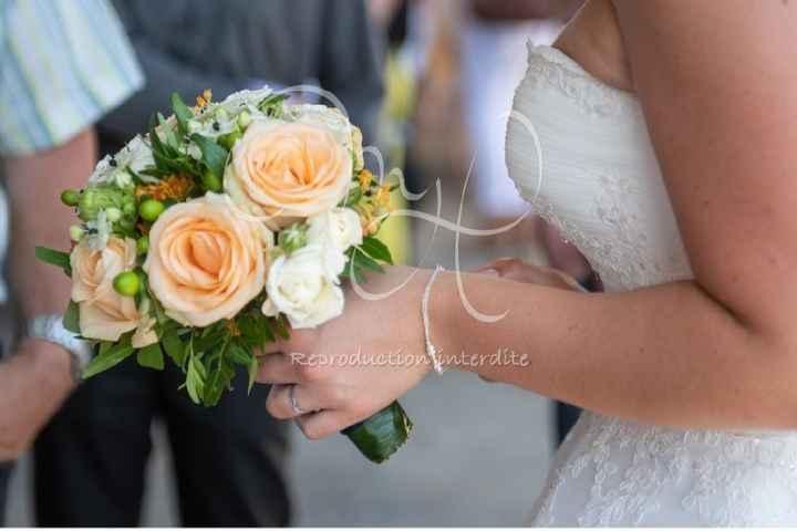 Bouquet de mariée. - 1