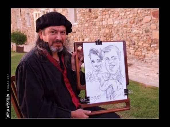 Le caricaturiste où le magicien, le cracheur de feu,... Tt est possible!