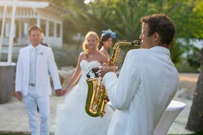 Ambiance musicale avec un groupe de jazz,...