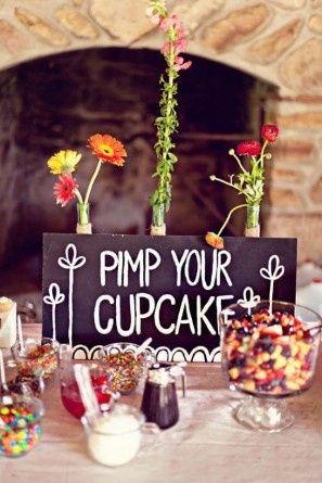 Décoration de TON cup cake!