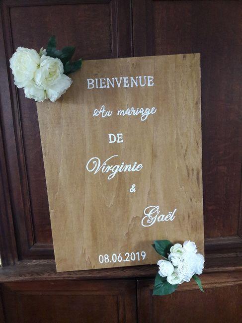Panneau de Bienvenue diy - 1