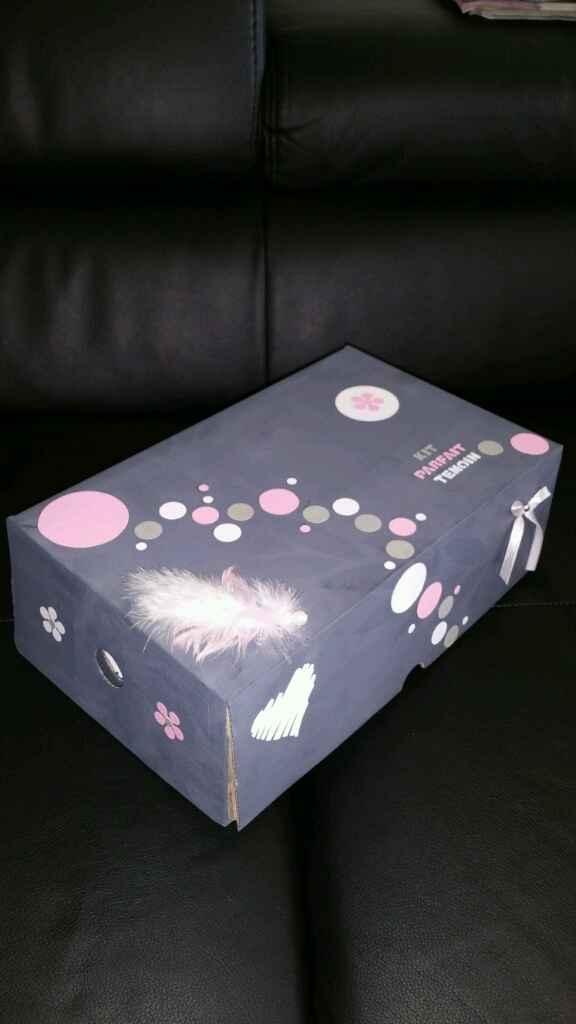 Mon urne et ma boîte parfait temoin diy - 3