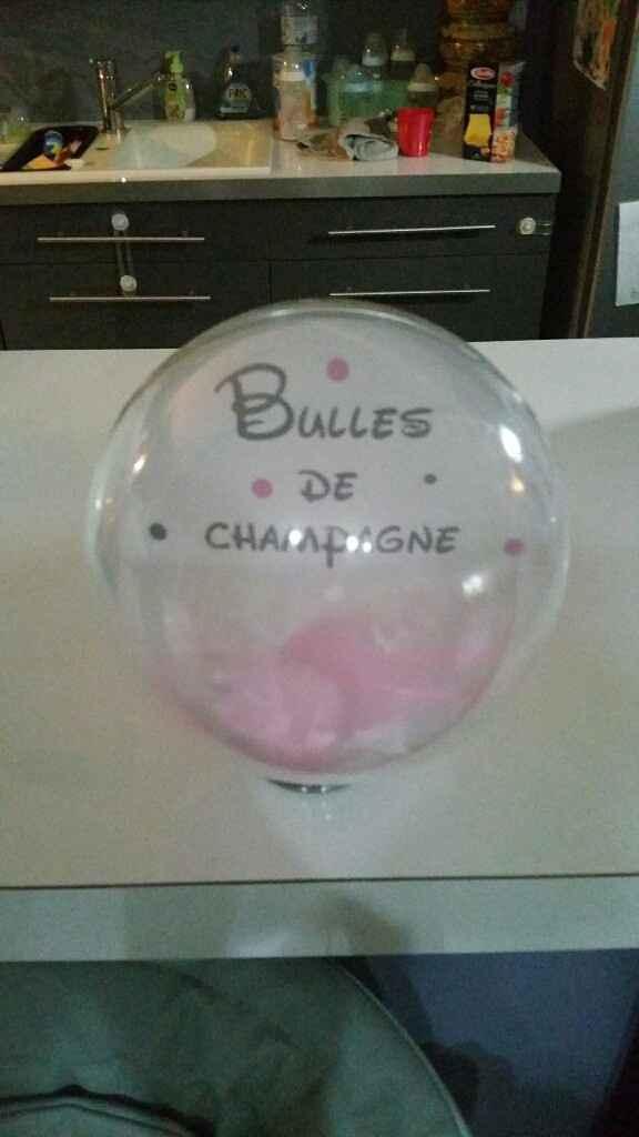 Boules plexi... noms des tables - 1