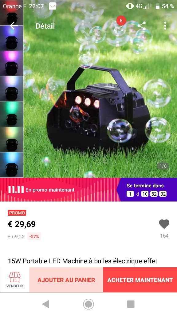 Canons à bulles - 1
